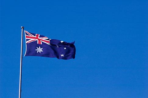 image 5-600-8164 Australia, Canberra, Flag