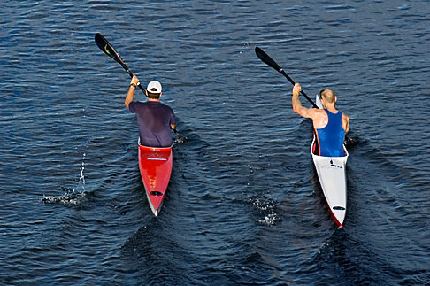 image 5-600-8653 Australia, Melbourne, Kayaks