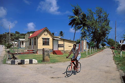 image 0-203-14 Barbados, St Andrew, Street scene, Shorey