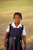 timid stock photography | Barbados, Bridgetown, Schoolgirl, image id 0-204-1
