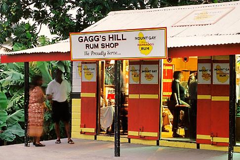 image 0-204-85 Barbados, St Joseph, Gaggs Hill Rum Shop