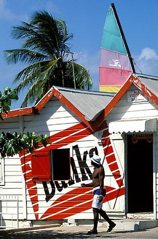 image 0-205-16 Barbados, St James, Cyrus Beach Bar, Holetown