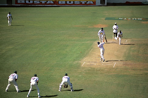 image 0-205-74 Barbados, Bridgetown, Cricket match, Kensington Oval