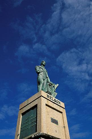 image 0-207-49 Barbados, Bridgetown, Statue of Nelson