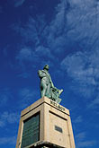 vertical stock photography | Barbados, Bridgetown, Statue of Nelson, image id 0-207-49