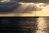 vessel stock photography | Barbados, Holetown, Sunset clouds on ocean, image id 3-386-94