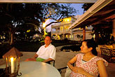 seated outdoors stock photography | Barbados, Holetown, Coral Reef Club, image id 3-387-96
