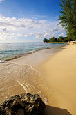rock stock photography | Barbados, Holetown, Coral Reef Club, beach, image id 3-388-56