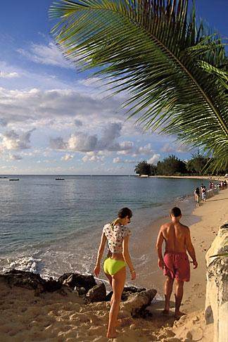 image 3-388-57 Barbados, Holetown, Coral Reef Club, beach