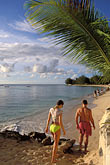 couple walking stock photography | Barbados, Holetown, Coral Reef Club, beach, image id 3-388-57