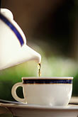 vertical stock photography | Still life, Pouring a cup of tea, image id 3-388-89