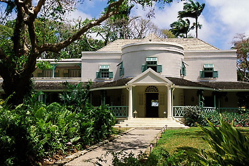 image 3-393-30 Barbados, St John, Villa Nova plantation house