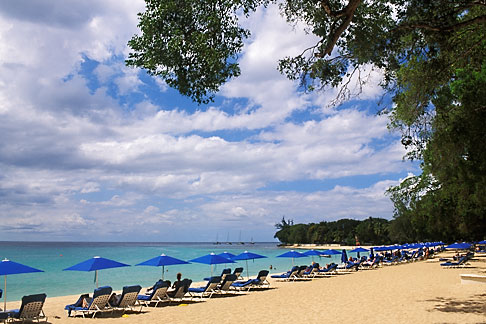 image 3-480-91 Barbados, St James, Sandy Lane, beach