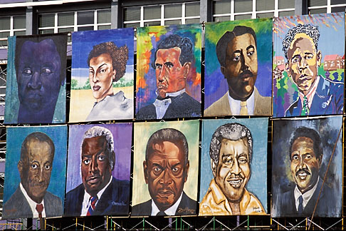 image 3-482-94 Barbados, Bridgetown, National Heroes Square