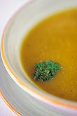 garnish stock photography | Food, Pumpkin soup, image id 3-483-75