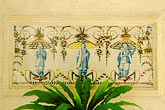 mural stock photography | Barbados, St. James, Mango Bay Villa, detail, image id 3-484-36