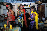 "costumed dancers stock photography | Barbados, Holetown, ""Mannequins in Motion"" at Ragamuffins restaurant, image id 3-491-30"