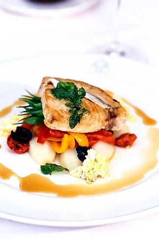image 3-493-40 Food, Grilled loin of swordfish