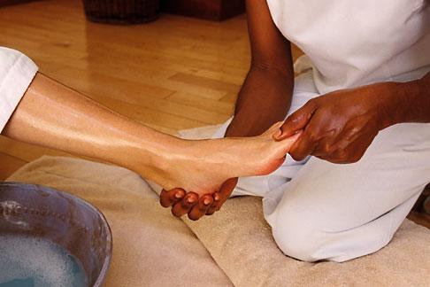 image 3-496-3 Barbados, St James, Sandy Lane spa, massage