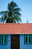 colorful building stock photography | Barbados, Speightstown, Chattel house, image id 3-496-75