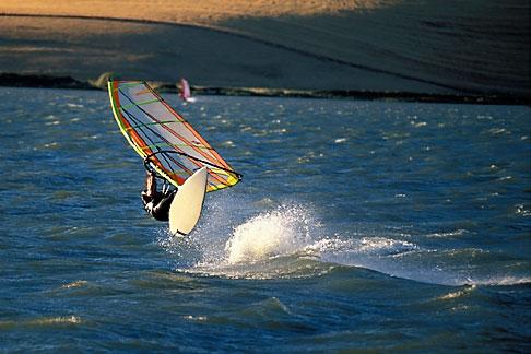 image 0-382-28 California, Delta, Windsurfing, Sherman Island