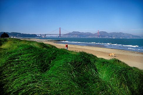 image 1-61-16 California, San Francisco, Crissy Field, GGNRA, Promenade
