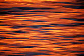 orange light stock photography | California, San Francisco Bay, Water ripples, image id 1-68-1