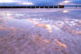 twilight stock photography | California, San Francisco Bay, Cargill salt ponds near Newark, image id 1-770-51