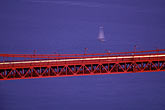 blue stock photography | California, San Francisco, Golden Gate Bridge at night from Marin Headlands, image id 1-81-71