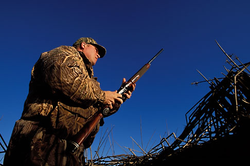 image 1-846-21 California, Suisin Marsh, Duck Hunting, Can Can Club