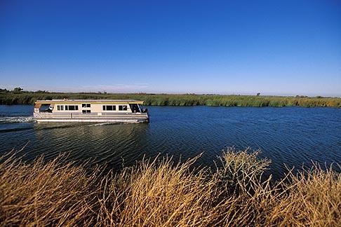 image 1-856-24 California, Delta, Whites Slough, Houseboat