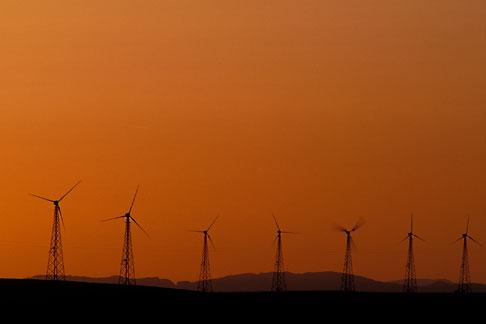 image 1-858-69 California, Solano County, Collinsville, Montezuma Hills, wind turbines