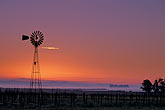 light stock photography | California, Sonoma County, Viansa Winery, Dawn light and windmill, image id 1-859-26