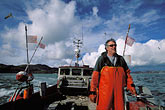 chief stock photography | California, San Francisco Bay, Herring Fishermen, Ernie Koepf, captain of the Ursula B, image id 2-230-38