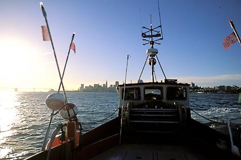 image 2-232-72 California, San Francisco Bay, Herring Boat in early morning