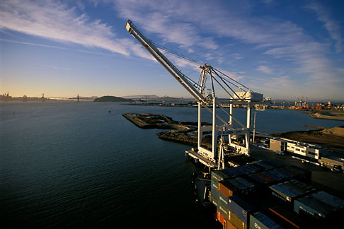 image 2-238-55 California, Oakland, Port of Oakland, Hanjin Terminal