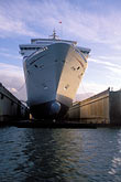 water stock photography | California, San Francisco, Port of San Francisco, Cruise ship in dry dock, image id 2-240-46