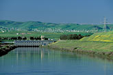 sf bay stock photography | California, Central Valley, California Aqueduct, Byron, image id 2-353-7