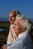 mature couple stock photography | California, Palo Alto, Florence and Phillip LaRiviere, Wildlife Refuge advocates, image id 2-450-1