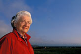 elderly stock photography | California, San Francisco Bay, Sylvia McLaughlin, founder of Save the Bay, image id 2-592-2