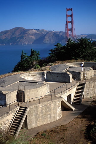 image 2-610-47 California, San Francisco, Coastal Defense Battery, Presidio, GGNRA
