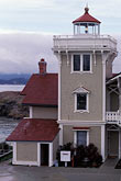 coast guard house stock photography | California, San Francisco Bay, East Brother Light Station, image id 3-34-6