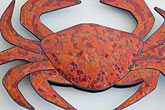 crab stock photography | Art, Dungeness Crab sculpture, Sausalito, image id 5-745-7931