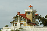 coast guard house stock photography | California, San Francisco Bay, East Brother Light Station, image id 6-440-5416