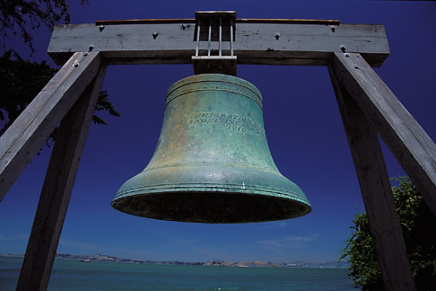 image 7-279-21 California, San Francisco Bay, Bell, China Cove, Angel Island State Park