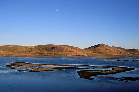 image 7-455-18 California, San Francisco Bay, Mudflats, Coyote Hills Regional Park