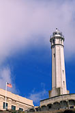 vertical stock photography | California, San Francisco Bay, Lighthouse, Alcatraz, GGNRA, image id 7-476-14
