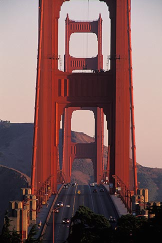 image 7-478-11 California, San Francisco, Golden Gate Bridge