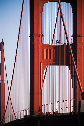 image 7-478-5 California, San Francisco, Golden Gate Bridge