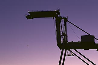 8-471-13  stock photo of California, Oakland, Inner Harbor